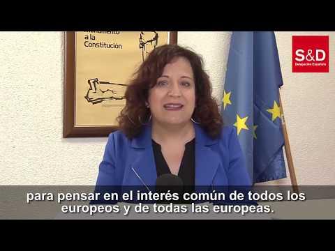 Iratxe García: Proponemos medidas urgentes y a largo plazo para frenar el impacto del COVID-19