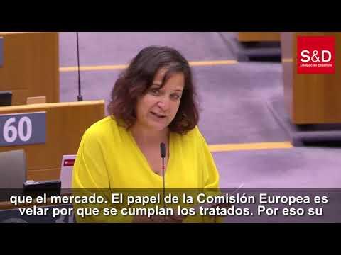 """Iratxe García: """"La democracia se conquista cada día, nunca se puede dar por sentada"""""""