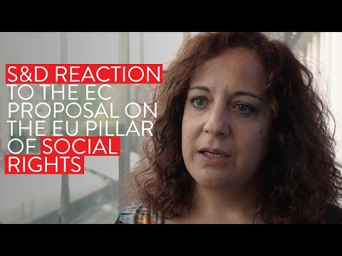 Our Reaction to the European Commission Proposal on Social Rights | Iratxe García Pérez