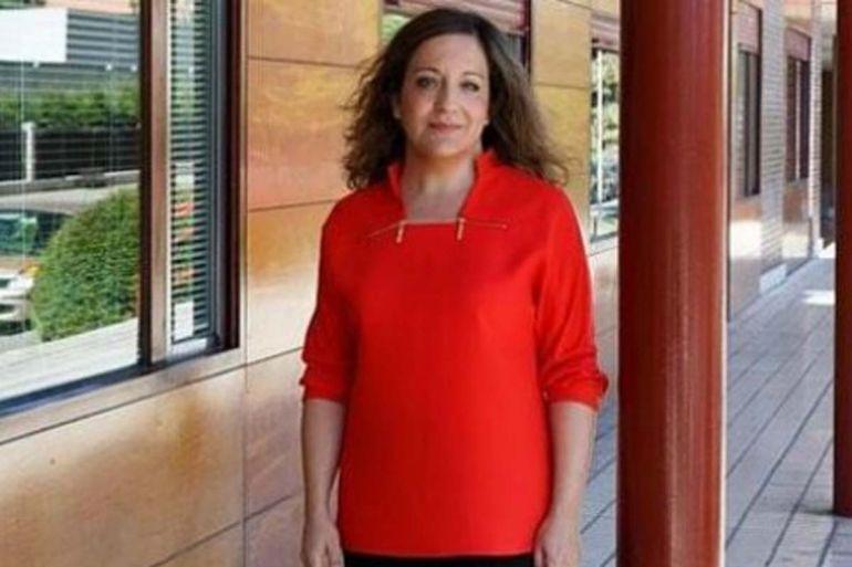 La eurodiputada socialista Iratxe García