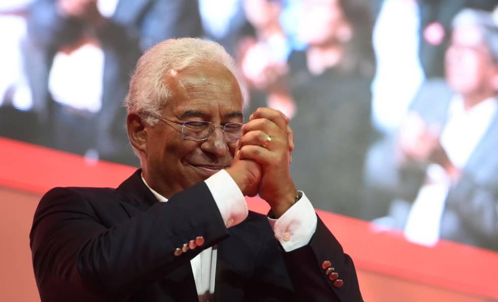 El candidato socialista, António Costa.