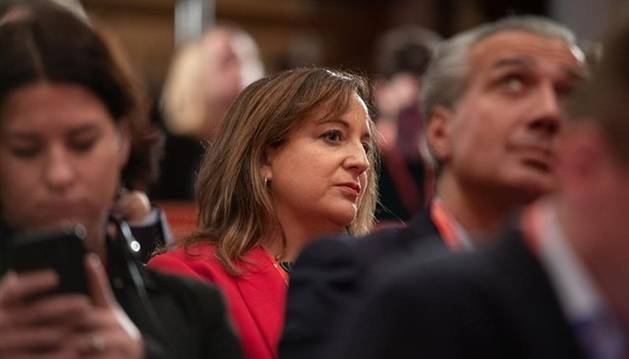 Iratxe García, número dos del PSOE en el Parlamento Europeo